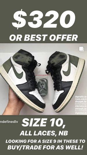 Air Jordan 1 Clay Green Size 10 Retro Nike Sneakers for Sale in Henderson, NV