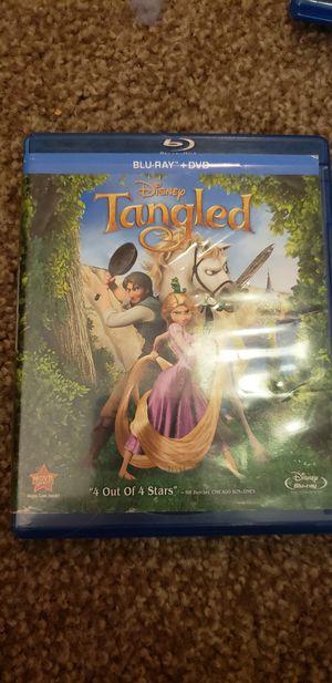 Tangled dvd for Sale in Lynnwood, WA