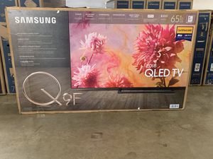 "Samsung QN65Q9FN FLAT 65"" QLED 4K UHD 9 Series Smart TV 2018 for Sale in Downey, CA"