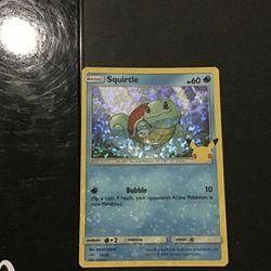 Mc Donald's 2021 Holo Squirtle Pokémon Card for Sale in Midlothian,  VA