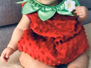 Strawberry Baby Costume - Size 3 to 6 Months •If Is Posted Is Available• for Sale in Leesburg, FL