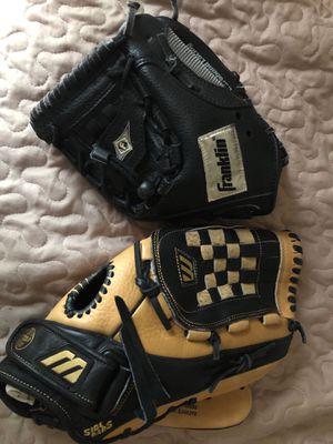 Baseball Gloves both for $25 for Sale in Alexandria, VA
