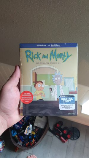 Rick and Morty The Complete Seasons 1-3 for Sale in Winter Springs, FL