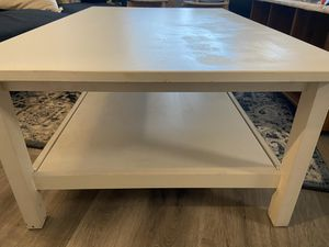 White coffee table for Sale in Arlington, VA