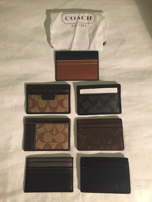 Authentic coach wallet/ card holder for Sale in Atlanta, GA