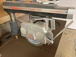 DeWalt 740 Powershop 10-inch Radial Arm Saw for Sale in Evergreen, CO