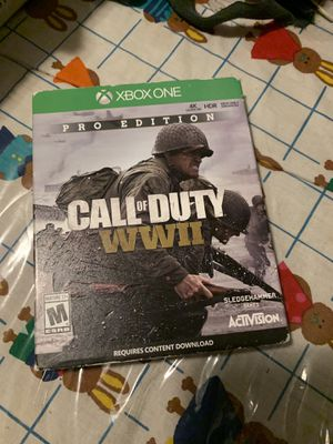 Call of duty ww2 Xbox one for Sale in San Francisco, CA