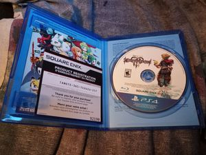 Kingdom hearts 3 for the ps4 for Sale in Celina, TX