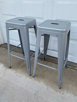 """PAIR OF 30"""" INCH STOOLS for Sale in Corona, CA"""