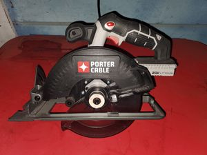 PORTER-CABLE 20V MAX 6-1/2-Inch Cordless Circular Saw for Sale in San Jose, CA