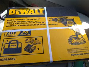 Brand New 20 volt brushless drywall drill /battery combo for Sale in PA, US