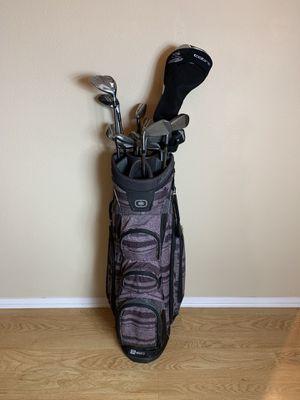 Taylormade golf set and king cobra driver for Sale in Santa Clarita, CA