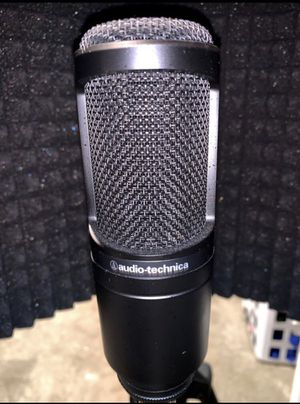 Audio Technia at2020 mic brand new for Sale in Washington, DC