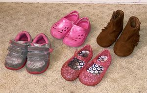 BABY GIRL SIZE 4 SHOES for Sale in Austin, TX