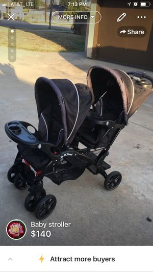Double stroller for Sale in Azusa, CA