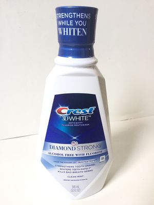 Crest diamond strong fluoride brand new for Sale in San Leandro, CA