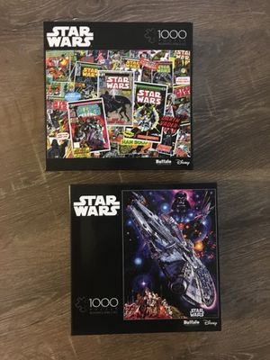 BRAND NEW STAR WARS PUZZLES for Sale in Murrieta, CA