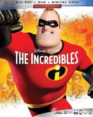 The incredibles bluray+dvd+Digital for Sale in Seattle, WA