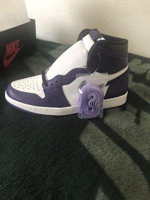 Jordan 1 Court Purple for Sale in Los Angeles, CA