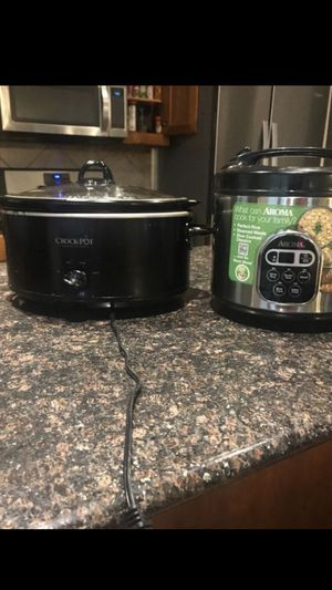 Brand New crock pot and rice cooker for Sale in Lavon, TX