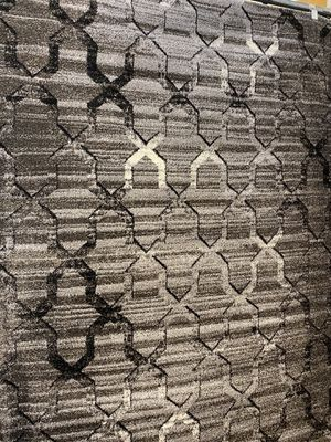 5x8 dark grey modern rug contemporary trails design. for Sale in Los Angeles, CA