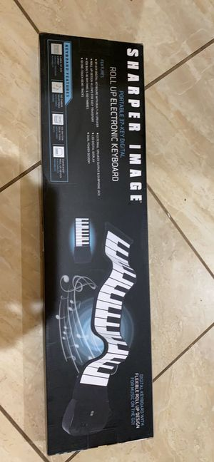 Roll up electronic keyboard for Sale in Arlington, TX