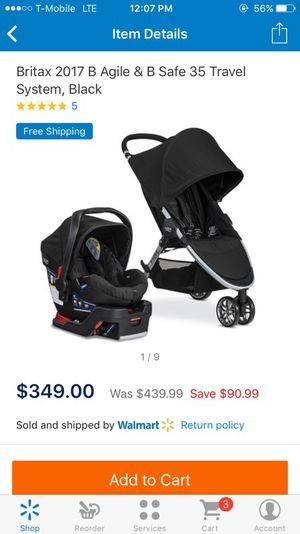Britax stroller & car seat for Sale in Las Vegas, NV