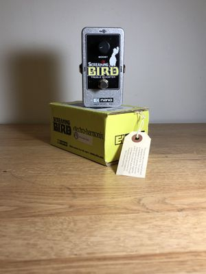 Electro-Harmonic: SCREAMING BIRD (treble booster) w/box and paperwork for Sale in Lowell, MA