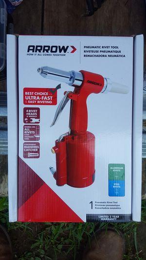 Arrow Pneumatic Rivet Tool for Sale in Crocker, MO