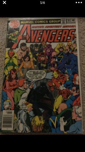 Bronze Age Avengers # 181 comic book for Sale in Selma, TX