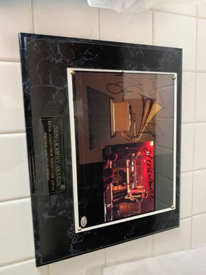 2009 Grammy Awards Plaque Signed By Jonas Brothers / Stevie Wonder for Sale in Temple City, CA