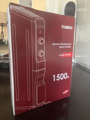 Electric Mica Space Heater (1500W) for Sale in Cambridge, MA
