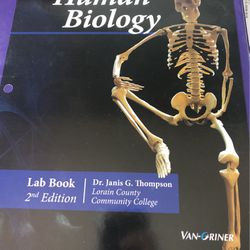 Human Biology Lab Book for Sale in Sheffield,  OH