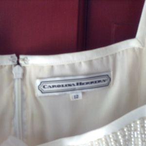 Carolina Herrera wedding dress, size 12 for Sale in Marblehead, MA