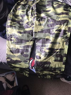 3x leather camo pants for Sale in Hialeah, FL