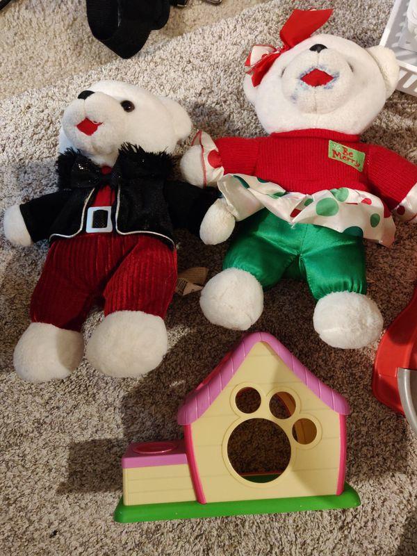 Kids toys, chalks, balls, mask, crayons, folders, sharpener, and lots more