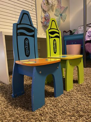 Crayola chairs for Sale in Glendale, AZ
