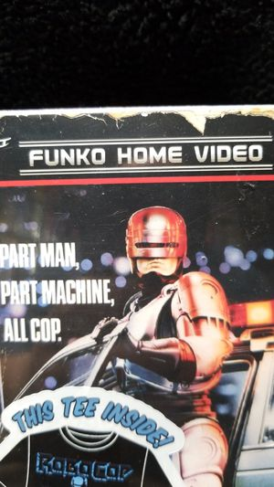 Robocop Funko Home Video VHS Packaged T-Shirt XL Target Exclusive for Sale in Seattle, WA