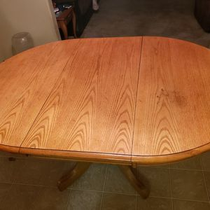 Oak Dining Table for Sale in Tacoma, WA