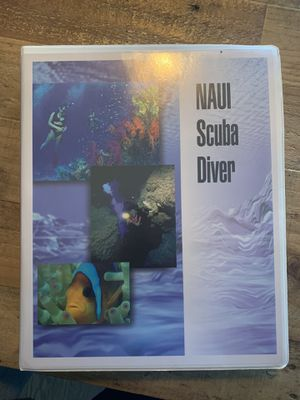 NAUI SCUBA DIVER CERTIFICATION KIT for Sale in Forney, TX