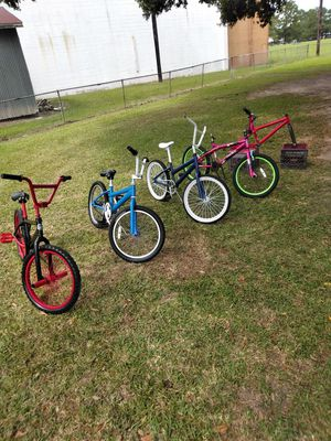 20 inch bikes ready to ride for Sale in Arnaudville, LA