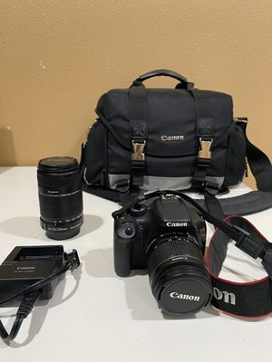 Canon T2i with an 18-55mm and 50-250mm for Sale in Westminster, CA
