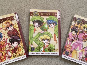 Manga Clamp School Detectives Vol 1, 2, 3 for Sale in Issaquah,  WA