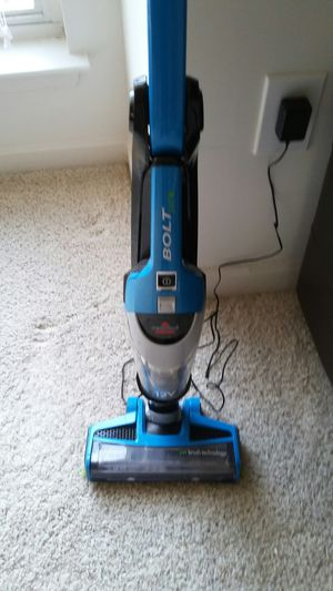 BISSELL Bolt 12V . 2 in 1 powerful cleaning vacuum with swivel head and lights on it for cleaning corners Real Cost $150 . Good For Home or Car. for Sale in Alexandria, VA