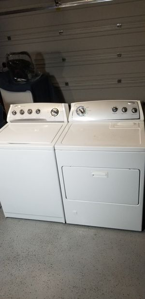 Whirlpool Set Washer And Gas Dryer OLD FASHION GREAT QUALITY !!!! for Sale in Phillips Ranch, CA