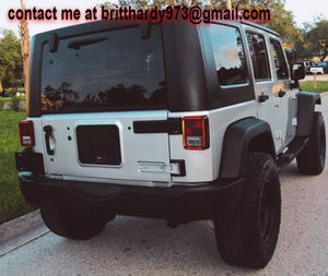 JEEP WRANGLER 07 // UNLIMITED X EDITION *SILVER* GREAT CAR for Sale in Hampton, VA
