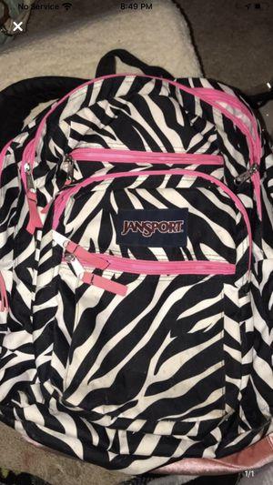 Jansport Zibra backpack for Sale in Denver, CO