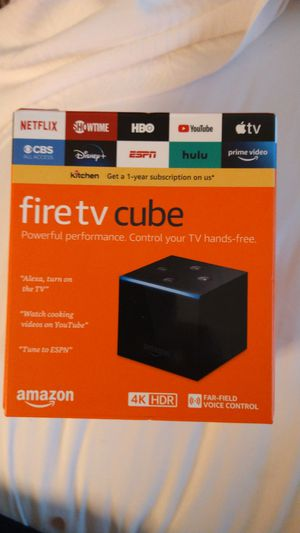 Fire tv cube by amazon for Sale in Santa Ana, CA