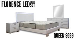 Florence LED Bedroom Set for Sale in Hialeah, FL