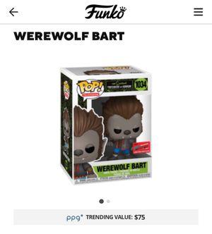 WereWolf Bart FC Funko Pop for Sale in Yonkers, NY